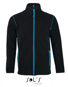 Polar męski Sol's Micro Fleece Zipped Jacket Nova Men