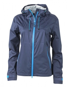 Damska kurtka Softshell James Nicholson Outdoor