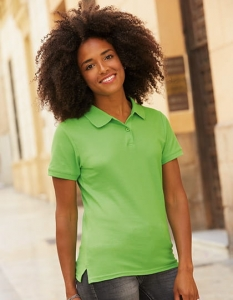 Koszulka polo damska Fruit of the Loom Premium Lady-Fit