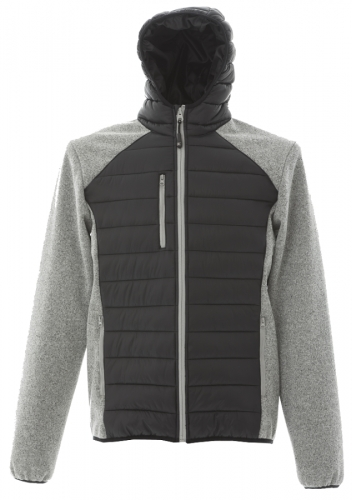 Kurtka unisex James Ross Berna Grey Black.png