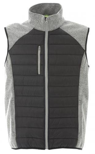 Bezrękawnik unisex James Ross Lucerna Grey Black.png