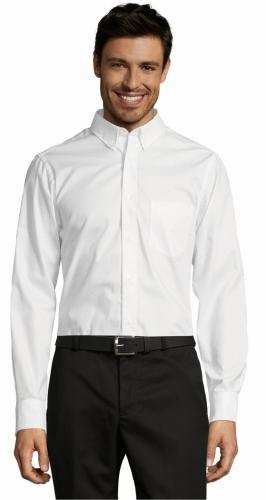 fbd9e56086 Koszula męska z długim rękawem Sol s Business Men Odzież firmowa z ...