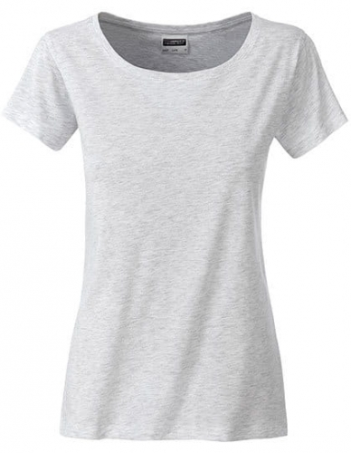 Koszula damska James Nicholson Ladies` Basic-T Ash Heather.jpg
