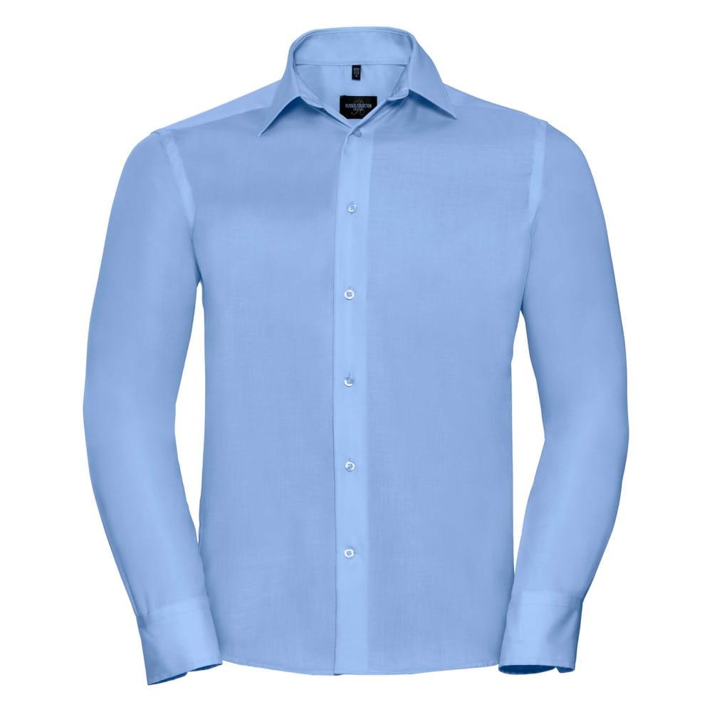 Koszula męska lekko dopasowana z długim rękawem Russell Non  OBDjb