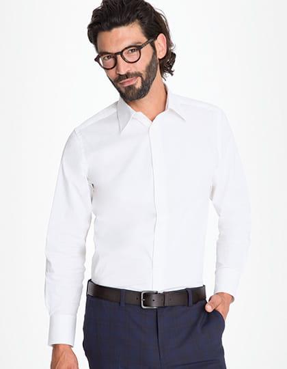 Koszula męska dopasowana z długim rękawem Sol's Brighton  YuC8i
